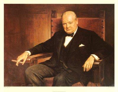 Churchill: Uraim, csak semmi sport!