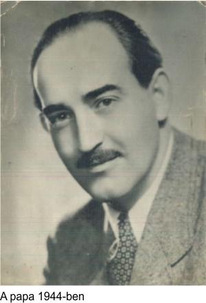 A papa Saly Géza 1944-ben