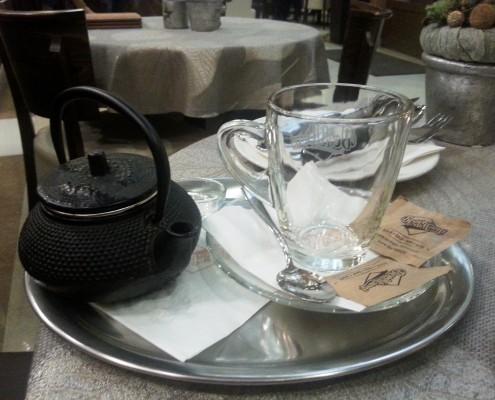 Tea kannában